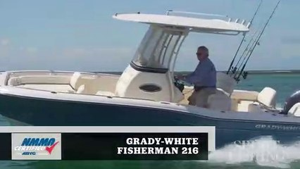 Aboard the Grady-White Fisherman 216, it is all about fishing and family!