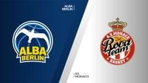 ALBA Berlin - AS Monaco Highlights | 7DAYS EuroCup, T16 Round 1