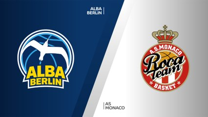 7Days EuroCup Highlights Top 16, Round 1: ALBA 83-74 Monaco