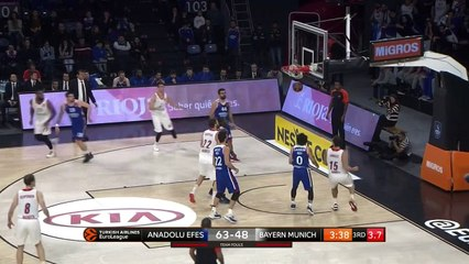 EuroLeague 2018-19 Highlights Regular Season Round 16 video: Efes 92-77 Bayern