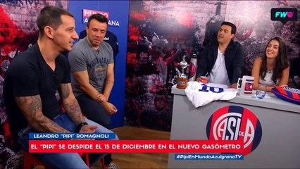 El Pipi Romagnoli recordó cuando creyó que San Lorenzo se iba al descenso