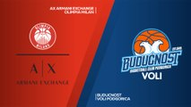 AX Armani Exchange Olimpia Milan - Buducnost VOLI Podgorica Highlights | Turkish Airlines EuroLeague RS Round 16