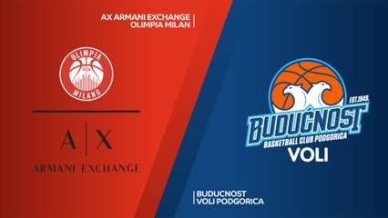 EuroLeague 2018-19 Highlights Regular Season Round 16 video: AX Milan 111-94 Buducnost