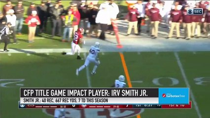 Watch Out for Alabama TE Irv Smith Jr. in the National Championship Game