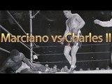 Rocky Marciano vs Ezzard Charles II (Highlights)
