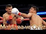 Marcos Maidana vs Victor Ortiz (Highlights)