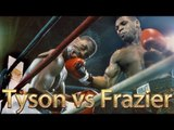 Mike Tyson vs Marvis Frazier (Highlights)
