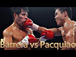 Marco Antonio Barrera vs Manny Pacquiao I (Highlights)