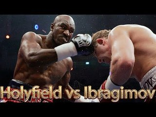 Evander Holyfield vs Sultan Ibragimov (Highlights)