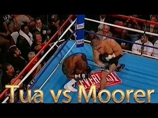 David Tua vs Michael Moorer (Highlights)
