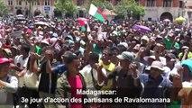 Madagascar: 3e jour d'action des partisans de Ravalomanana
