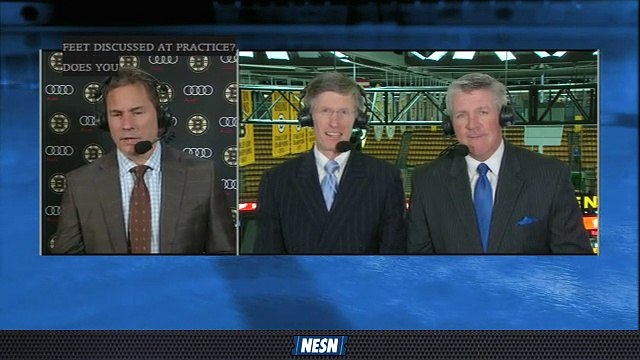 Bruce Cassidy Praises Bruins For Stretching Ice On David Pastrnak Goal