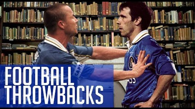 When Dennis Wise pushed Zola TOO FAR!   Football Throwbacks