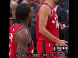 """""""Traitor"""" chants from Spurs crowd affect Kawhi Leonard at the freethrow line during Raptors vs Spurs 1/3/18"""
