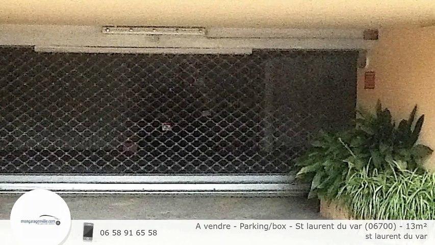 A vendre - Parking/box - St laurent du var (06700) - 13m²
