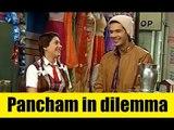 Pancham in dilemma in Jijaji Chhat Per Hain