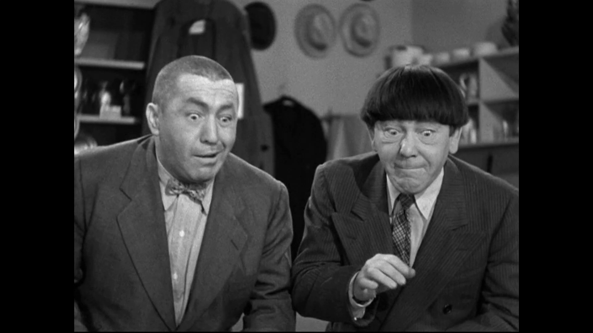 Image result for The Three Stooges: Three Loan Wolves (1946)