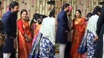 Prabhas & Anushka Shetty together at SS Rajamouli's son's wedding; Watch Video | FilmiBeat