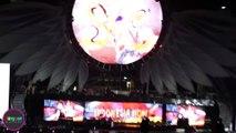 Indonesian President Joko Widodo at Slank's 35th Anniversary Concert