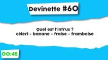 Énigme #60 : L'intrus