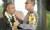 Cara Unik Pelepasan Purnawirawan di Polres Bangli, Bali