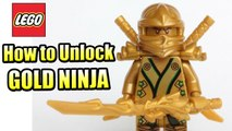The LEGO Ninjago Movie Videogame - Gold Ninja Unlocked + Gameplay (220 Gold Bricks)