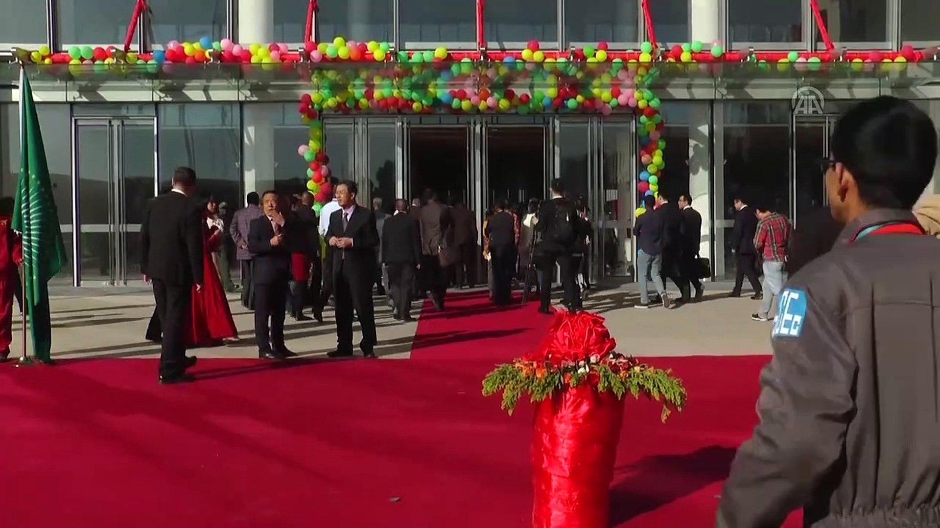 'Çin Afrika'yla güvenlik alanındaki iş birliğini derinleştirecek' - ADDİS ABABA