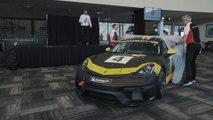 2019 Porsche 718 Cayman GT4 Clubsport (HD) official at Daytona (USA)
