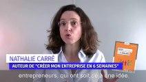 """""""Créer son entreprise en 6 semaines"""", un livre de Nathalie Carré"""