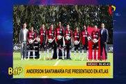 Anderson Santamaría y Beto da Silva fueron presentados en el Atlas y Lobos BUAP