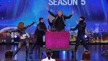 Magilicious Perform Magic Stunts on Thailand's Got Talent   Magicians Got Talent