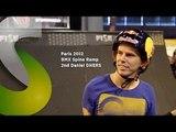 FISE X Paris 2012 BMX Spine Ramp 2nd Daniel Dhers