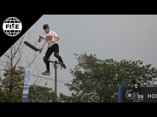 Jamie Hull 3rd Place - Scooter Pro Final | FISE World Series Chengdu 2018