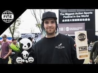 Tomas Lemoine 1st Place - Mountain Bike Freestyle Pro Final | FISE World Series Chengdu 2018