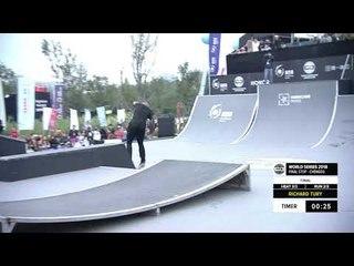 Richard Tury 1st Place - Skateboard Street Final | FISE World Series Chengdu 2018