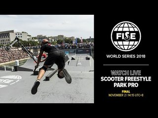 FWS CHENGDU 2018: Scooter Freestyle Park Pro Final
