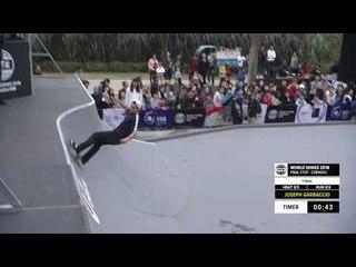 Joseph Garbaccio 2nd Place - Skateboard Street Final | FISE World Series Chengdu 2018