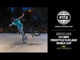 FWS EDMONTON 2018: UCI BMX Freestyle Flatland World Cup Final