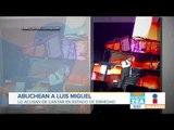 Abuchean a Luis Miguel; lo acusan de cantar en estado de ebriedad   Noticias con Francisco Zea