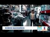 Objetos más robados en la temporada navideña | Noticias con Francisco Zea