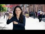 Picando la noticia: ¡Ella traduce música al lenguaje sordomudo! | Sale el Sol