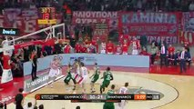Olympiacos Piraeus - Panathinaikos OPAP Athens Highlights | Turkish Airlines EuroLeague RS Round 16
