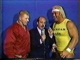 Hulk Hogan & Bob Backlund vs. Mr. Fuji & Tiger Chung Lee (1984-01-14)