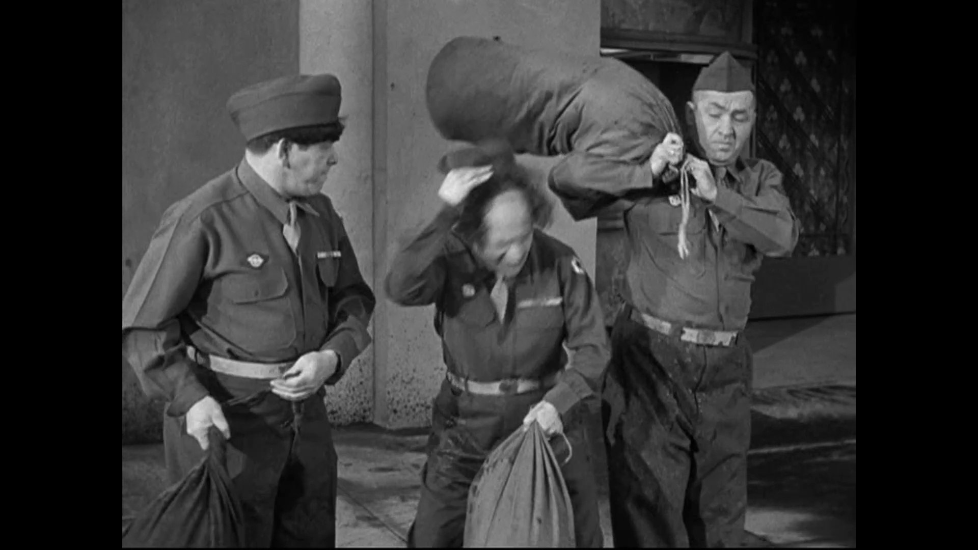 Image result for The Three Stooges: G. I. Wanna Home (1946)