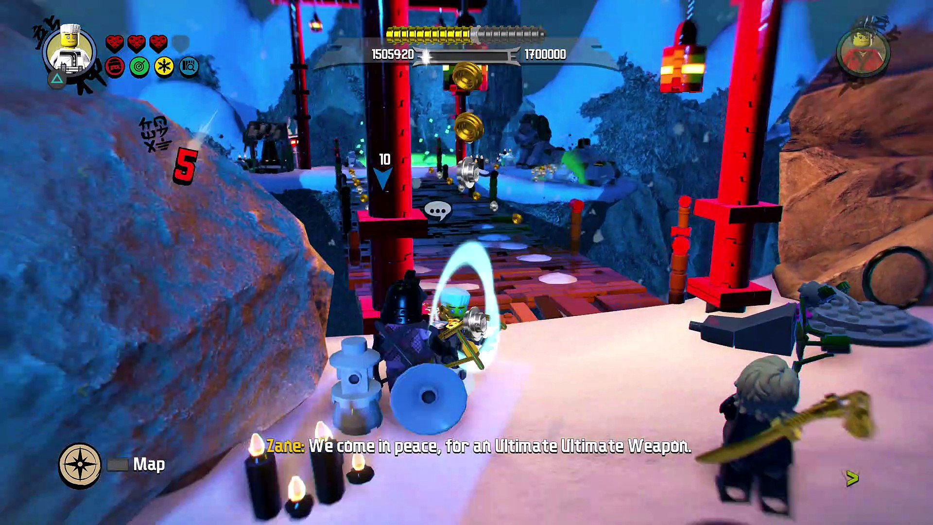 The LEGO Ninjago Movie Videogame — Walkthrough Part 8 — ULTIMATE ULTIMATE  CHEST – Видео Dailymotion