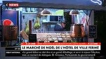 Gilets Jaunes: Le marché de Noël de l'Hôtel de Ville de Paris fermé aujourd'hui en raison de la manifestation - VIDEO
