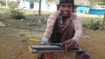 Electric motor created by young boy! Brilliant!