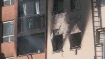 Tres muertos y varios heridos en un incendio en un edificio de Badalona