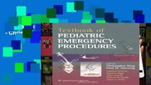 Popular Textbook of Pediatric Emergency Procedures - Christopher King