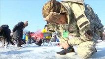 Südkorea: Eisfisch-Festival zieht am ersten Tag mehr als 140.000 Besucher an